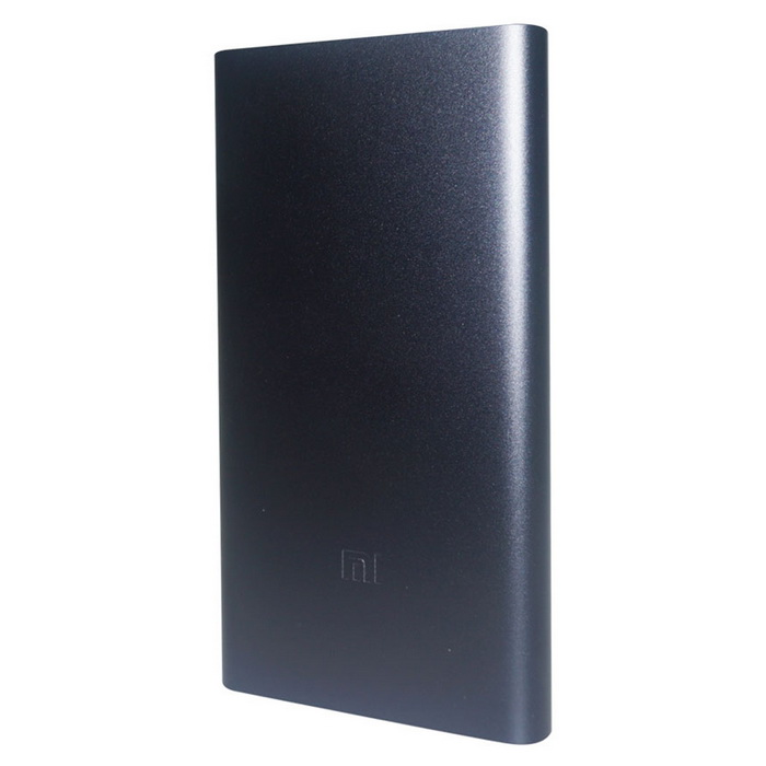 Original Xiaomi 10000mAh Quick Charge Mobile Power Bank II - Tarnish