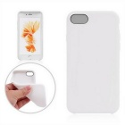 "TPU funda protectora para iPhone 4.7 7"" - blanco"