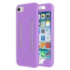2-in-1 Sport Running Armband + Silicone Case for IPHONE 7 Plus -Purple