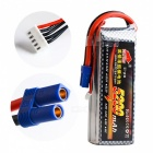 Good Quality 14.8V 5200mAh 4S 35C Lipo Battery for RC - Black