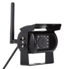 "KELIMA 088 4.3"" Wireless Car 18 IR LEDs Night Vision Camera - Black"