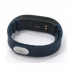 SMAWATCH Dynamic Heart Rate Monitoring Smart Wristband - Black + Blue