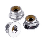 5mm Plus Thread Clockwise Locknuts for 2204 2205 2206 Motor - Silver