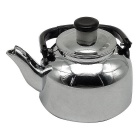 Creative Tea Kettle Style Gas Lighter - Silver