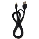 Remax 1.5A Type-C USB Fast Charge Data Line - Black (100cm)