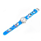 Creative Cute 3D Silicone Crab Children's Wrist Watch