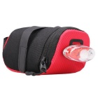 B-SOUL YA0202 Bicycle Saddle Bag Polyester Folding Bag - Red