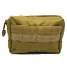 Outdoor Camouflage Tactics Molle Package Waist Bag - Tan