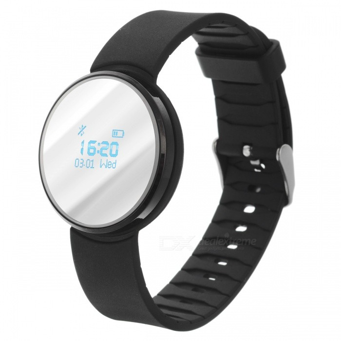 UW1 Bluetooth 4.0 Smart Watch w / dynaaminen sykemittari - musta