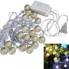Jiawen 20-LED 5m Warm White Christmas Holiday Decoration String Light