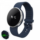 UW1 Bluetooth 4.0 Smart Watch w/ Dynamic Heart Rate Monitor - Blue