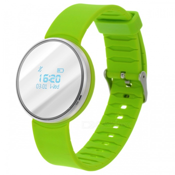 UW1 Bluetooth 4.0 Smart Watch w/ Dynamic Heart Rate Monitor - Green