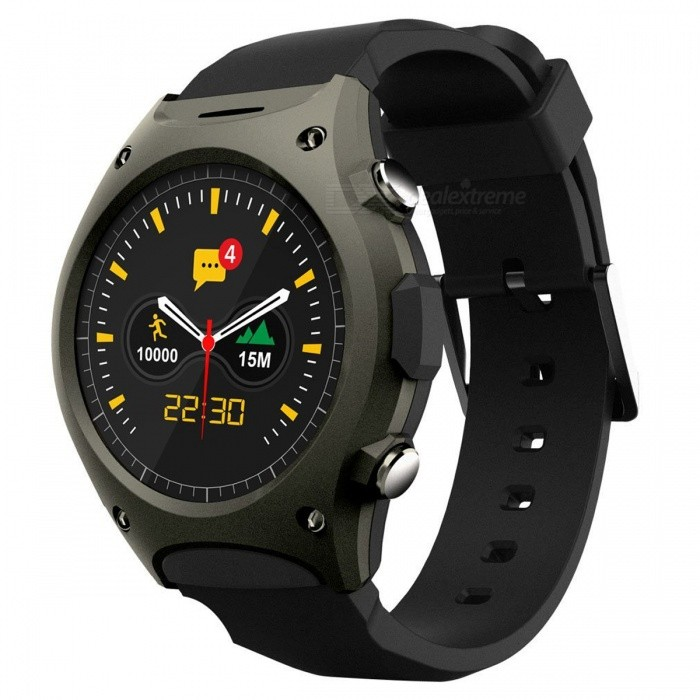 Q8 Sport SmartWatch w/ Heart Rate, Atmospheric Pressure, Altitude, MP3