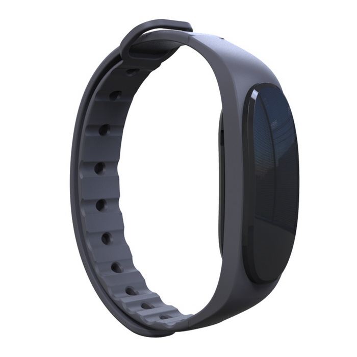 Eastor T02 Водонепроницаемый Bluetooth Smart Wristband Sleep Monitor - Черный
