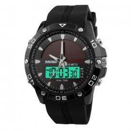 SKMEI 1064 Men's Sports Digital Quartz Wrist Watch - Black