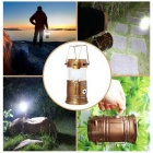 Jiawen Solar Energy LED Camping Emergency Telescopic Lamp / Flashlight