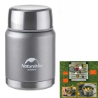 Naturehike doble capa de acero inoxidable frasco de vacío olla de guiso (350ml)