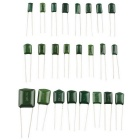 Hengjiaan 660Pcs 100V 10% Polyester Film Capacitor Assorted Kit