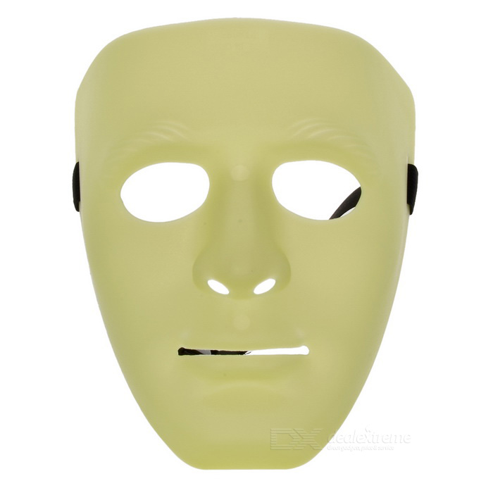 Unisex Lighting Face Mask for Cosplay Costume - GreenFace Masks<br>Form  ColorGreenMaterialABSQuantity1 DX.PCM.Model.AttributeModel.UnitShade Of ColorGreenGenderUnisexSuitable forAdultsPacking List1 * Face Mask<br>