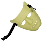 Unisex Lighting Face Mask for Cosplay Costume - Green