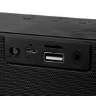Som estéreo Wireless Bluetooth V3.0 Speaker Subwoofer - Preto