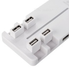 BSTUO USB 2.0 10-Port HUB w/ 480Mbps High Speed Transmission - White