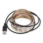 calienta la lámpara USB de 5V DC 20W 5050 SMD LED blanco 120-decoración (2m)