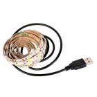 USB DC 5V 15W 5050 Warm White 90-LED Decoration Lamp (150cm)
