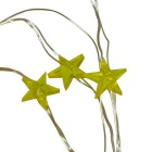 Jiawen 10m Copper Wire Star Shape Christmas Decoration LED String Lamp