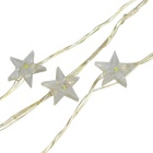 10M Copper Wire Star Shape Christmas Decoration Fairy LED String Light