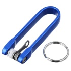 FURA HA-III Hard Oxidation Aluminum Alloy Key Holder Oragnizer - Blue