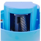 0709 Cartoon Round Shaped Full-automatic Pencil Sharpener - Blue