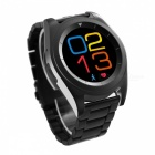 NO.1 G6 Bluetooth 4.0 Heart Rate Monitor Smart Watch - Black