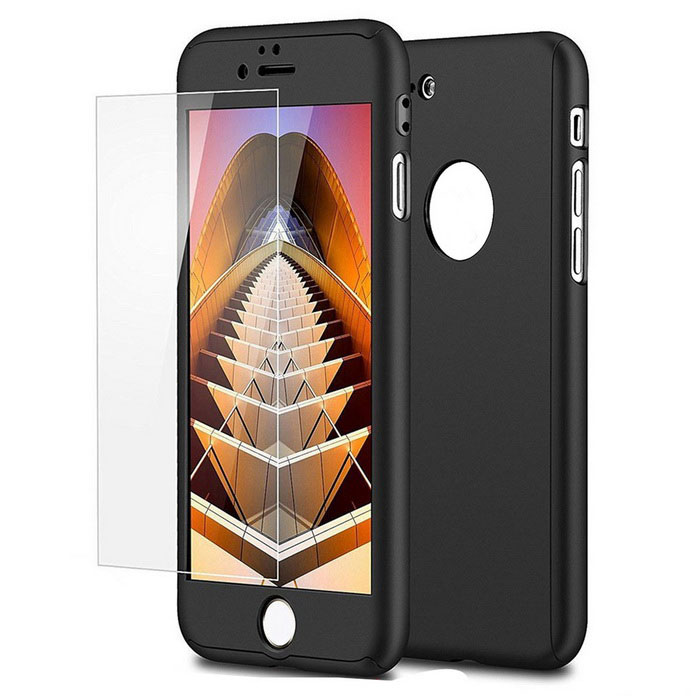 funda protectora delgada PC ultra para IPHONE 7 - negro