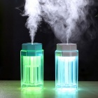 2.2W USB Powered Colorful Light Touch Humidifier - Red + Transparent