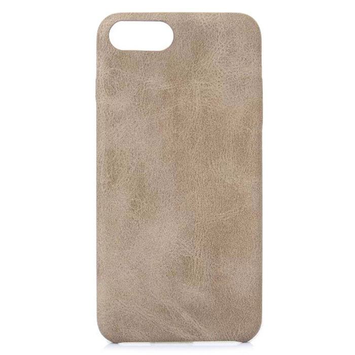 Retro Pattern PU Protection Shell for IPHONE 7 - Light Brown