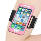 2 in 1 Sport Running Armband + Silicon Case for IPHONE 7 - Pink
