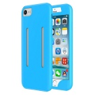 2-in-1 Sport Running Armband + Silicone Case for IPHONE 7 PLUS - Blue
