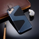 """ Z "" Protective PC + TPU Back Case for IPHONE 7 Plus - Navy Blue"
