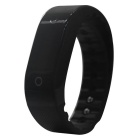 SMAWATCH SM07 Dynamic Heart Rate Monitoring Smart Wristband - Black