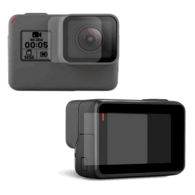 Screen Protector + Camera Lens Film Set for GoPro Hero 5