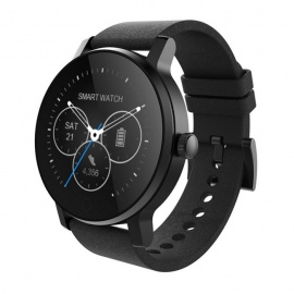 SMAWATCH SMA-09 Bluetooth 4.0 Smart Watch - Black (Steel Band)