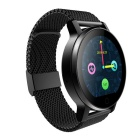 SMAWATCH SMA-09 Bluetooth 4.0 Smart Watch - Negro (banda de acero)