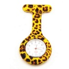 Silicone Nurse Quartz Watch Stainless Steel Clip Pocket Watch