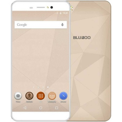 BLUBOO picasso android 4G smartphone w / 2GB RAM, 16 GB ROM - golden
