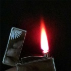 High-end New Electronic induction Inflatable Lighter - Silver