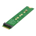 PCI-E 2 Lane M.2 M Key NGFF SSD Male to Female Extension Adapter Card for XP941 SM951 PM951 SM961