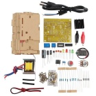 Hengjiaan EU 220V DIY LM317 Adjustable Voltage Power Supply Board Kit