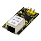 W5100 Network Module for Arduino - Black + Yellow