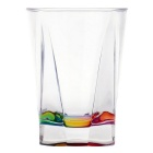 Romantic Transparent Acrylic Rainbow Cup Water Glass (480ml)